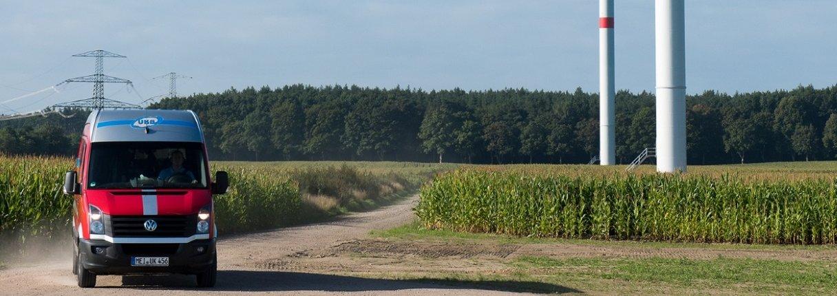 UKB awarded certification for wind farm management
