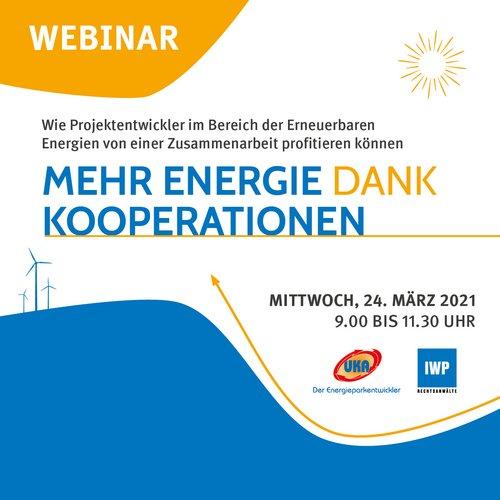 UKA-Webinar Mehr Energie dank Kooperationen