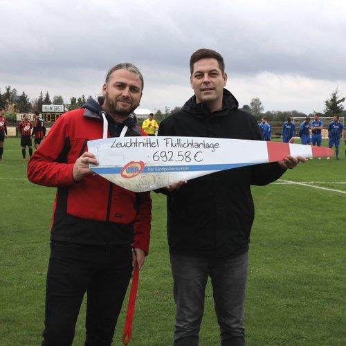UKA Cottbus unterstützt den SV Lok Uebigau