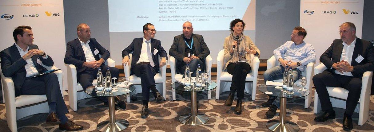 UKA diskutiert mit ostdeutscher Politik und Energiebranche. Foto: Claudia Koslowski/PIXAPOOL