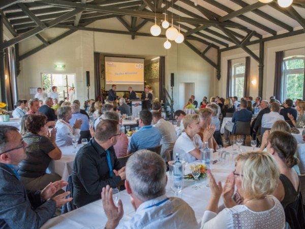 """150 Gäste kamen zur Jubiläumsfeier in den """"Alten Tanzsaal"""" von Lohmen"""