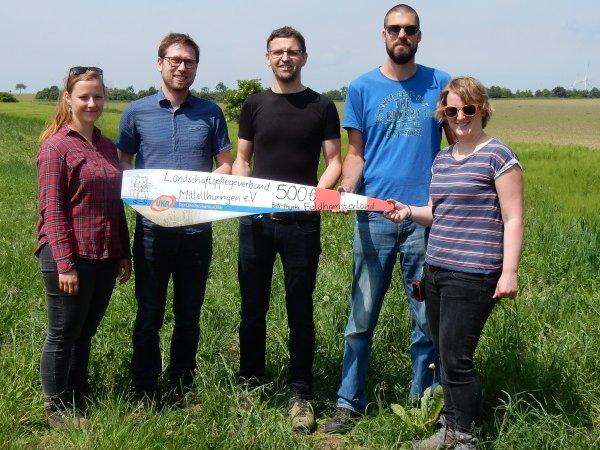 UKA Erfurt unterstützt Schülerinnen und Schüler bei Feldhamsterprojekt