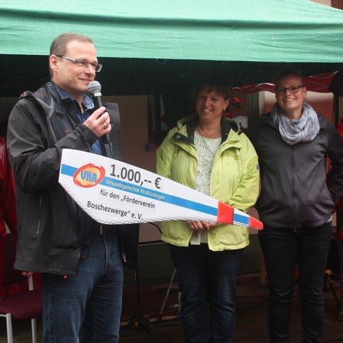 """UKA unterstützt Förderverein """"Boschezwerge"""" aus Goyatz"""