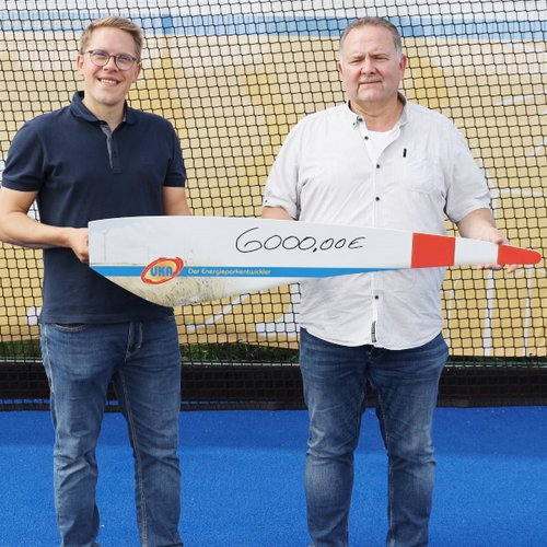 Osternienburger Hockeyclub bekommt von UKA jährliche Unterstützung