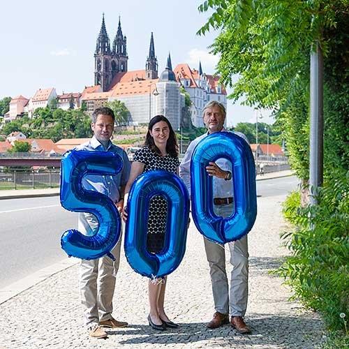 Energieparkentwickler UKA begrüßt 500. Mitarbeiter