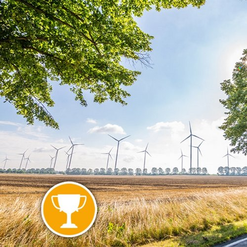 The UKA corporate group occupies second place in the ranking of wind park developers in Germany.