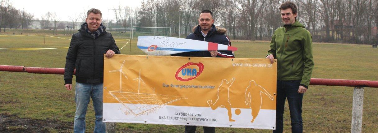 UKA unterstützt SV Rot-Weiß 1950 Wundersleben