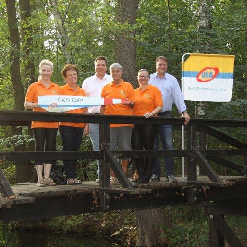 UKA Cottbus fördert Wartung der Straupitzer Parkbrücken