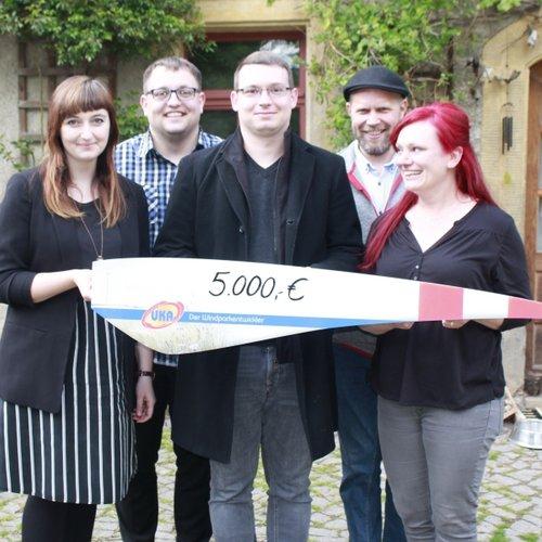 UKA spendet für Jugendarbeit in Meißen