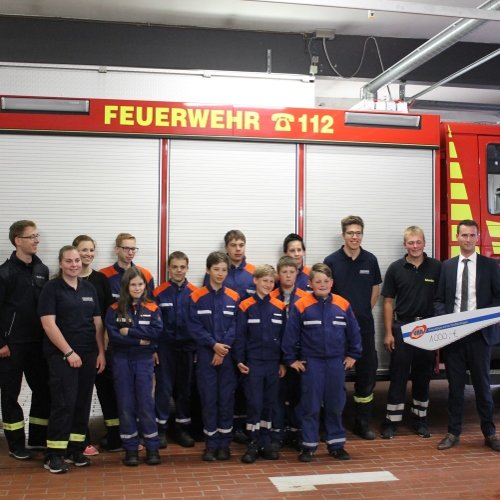 Spende Feuerwehr Rodenkirchen