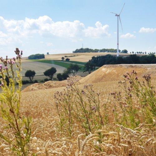 Anlage im UKA-Windpark Höherberg