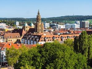 UKA Standort Heilbronn Stadtansicht
