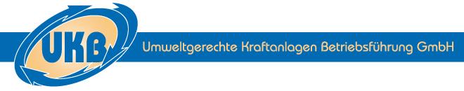 Logo UKB Umweltgerechte Kraftanlagen Betriebsführung GmbH