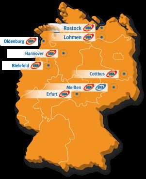 UKA Group locations map